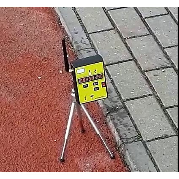 Комплект системы хронометража для легкой атлетики, лазерный старт/финиш, радиосекндомер